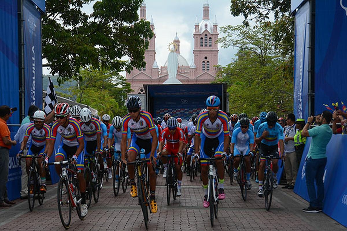 Ciclismo ruta varonil