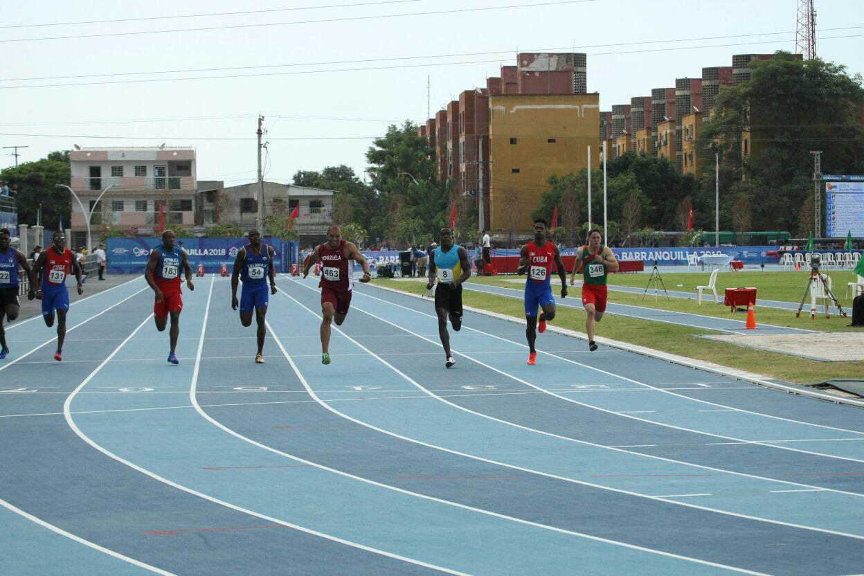 Atletismo, día inaugural