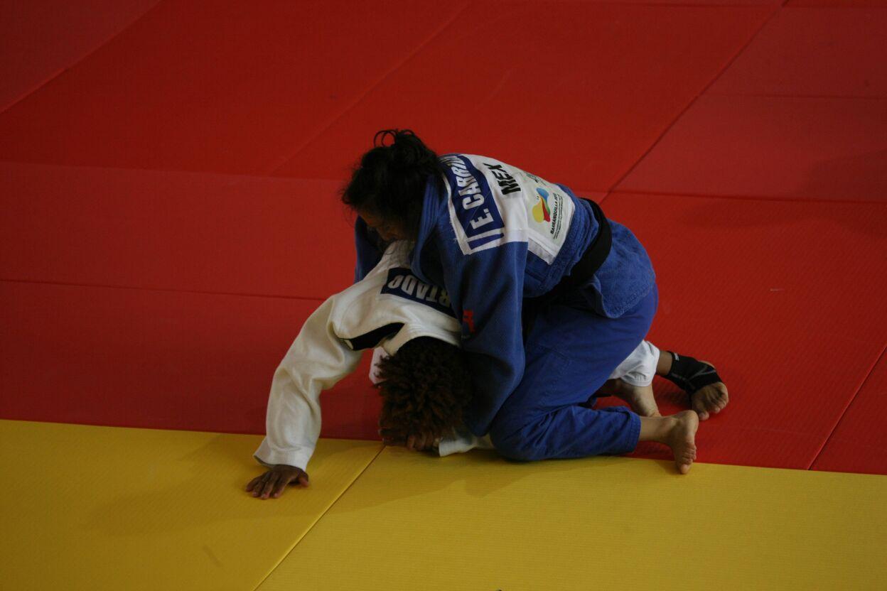 Judo, primer día de competencia con Edna y Luz