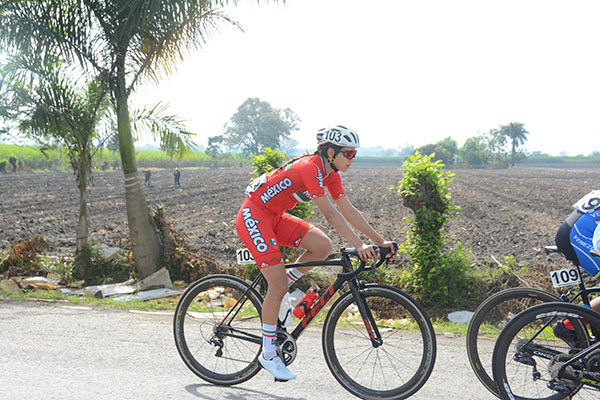 Lizbeth Salazar ciclismo ruta bronce