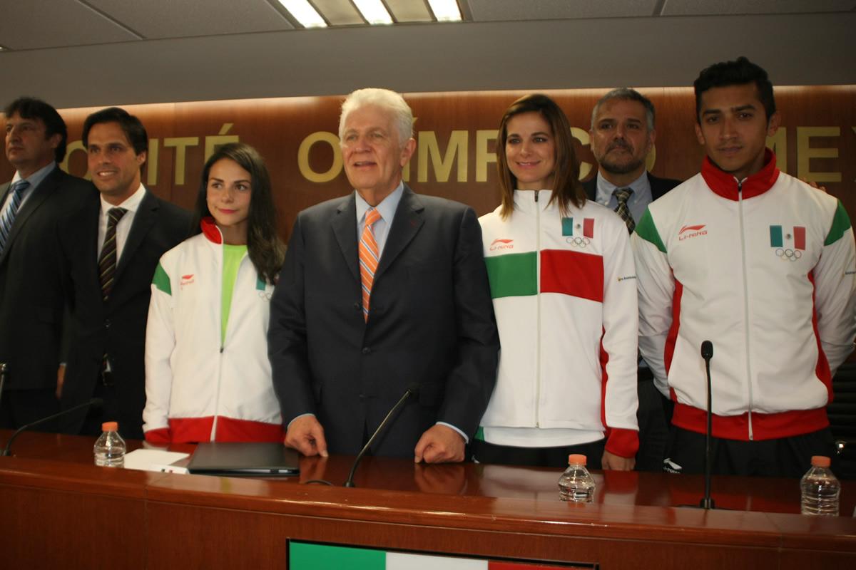 Li-Ning vestirá a la delegación mexicana en el ciclo olímpico