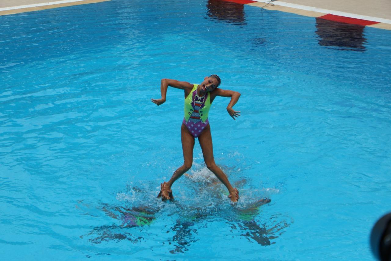Oro para México en natación artística equipo libre